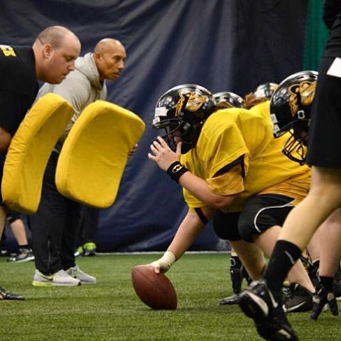 Indoor practices are underway! Check out photos from this weekendshellip