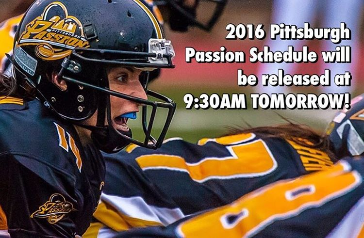 PSA The 2016 PittsburghPassion Season Schedule will be released tomorrowhellip