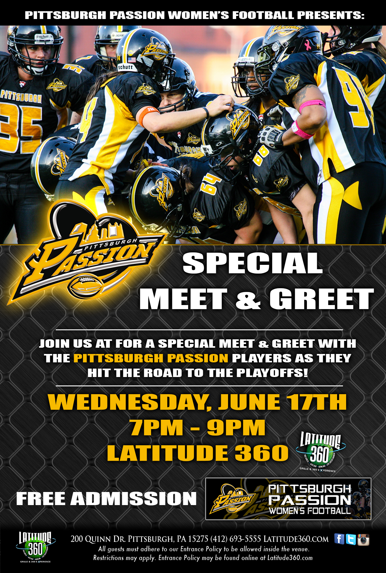 L360 pitt pittsburgh passion meet and greet flyer pittsburgh l360 pitt pittsburgh passion meet and greet flyer m4hsunfo