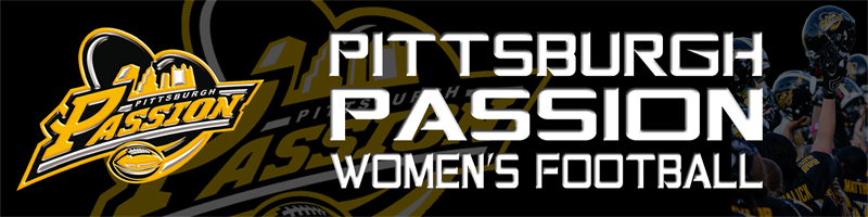 Pittsburgh Passion Women's Football Logo